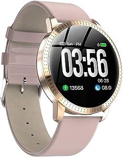 D DOLITY CF18 IP67 120mAh Smart Watch Watchband Sports Fitness Blood Pressure Fashion - Pink, 1.22inch