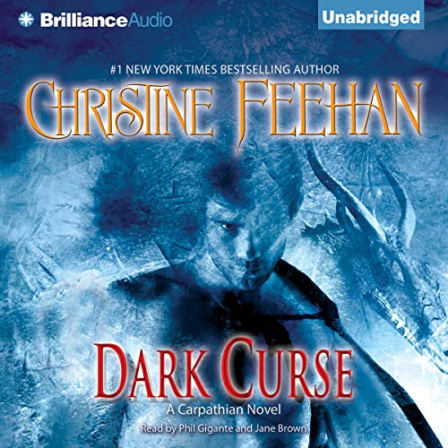 Dark Curse     Dark Series, Book 19              By:                                                                                                                                 Christine Feehan                               Narrated by:                                                                                                                                 Phil Gigante,                                                                                        Jane Brown                      Length: 13 hrs and 26 mins     11 ratings     Overall 4.8