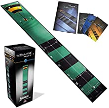 WellPutt Putting Mat, 13 Foot, Training Book Includes More Than 50 Training Exercises