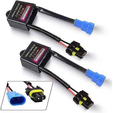 HID Warning Canceller Capacitor Anti Flicker Error Code Decoder (Pack of 2)