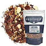 Organic Positively Tea Company, Blood Orange Vanilla Rooibos Tea, Loose Leaf, 16 Ounce