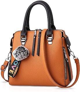 NICOLE & DORIS Frau Mode-Handtaschen Tragetaschen Klassisch Damen Körper überqueren Schultertasche Kuriertasche Leder Gros...