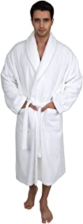 Men's Robe, Organic Cotton Terry Shawl Bathrobe