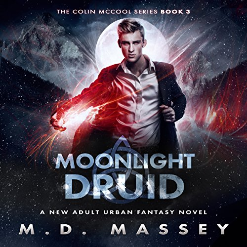 Moonlight Druid audiobook cover art