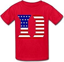 MAM2 6-16 Years Old Tee Shirt Kids Boys Girls T Shirt Duke University Flag Black