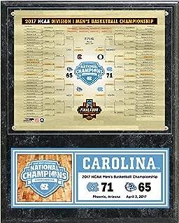 UNC North Carolina Tar Heels 2017 NCAA Basketball Championship Photo Plaque (Size: 12