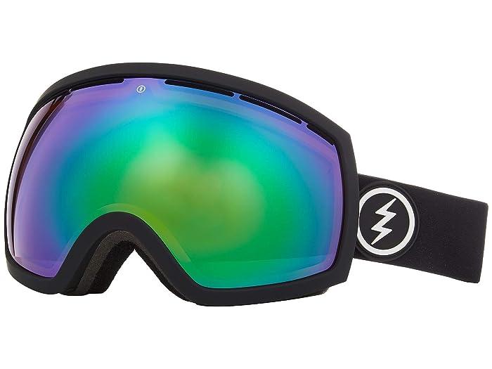 EG2 (Matte Black Brose/Green Chrome) Snow Goggles