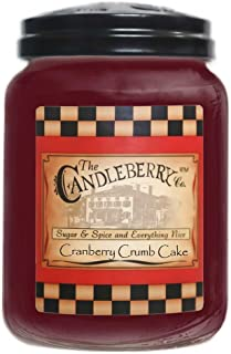 Candleberry Cranberry Crumb Cake 26oz. Jar
