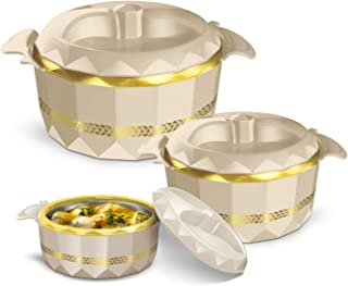 MILTON Hotpot Casserole Crystalia, Easy to carry and Easy to Store, Great Bowl for Holiday, Dinner and Party, Keeps Food H...