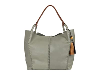 The Sak Los Feliz Leather Tote (Meadow) Handbags
