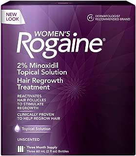 Rogaine Regular Strength for Women 2 Ounce (Triple Pack)