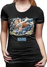 PvezTFi Anime One Piece Luffy Gear 4 dames T-shirt...