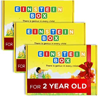Einstein Box Gift for 2 Year Old Boys and Girls - Set of 3