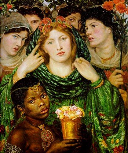 Dante Gabriel Rossetti - The Beloved, Size 24x30 inch, Poster Art Print Wall décor