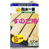 日本特殊塗料 nittoku 強力 防水一番 浸透性防水剤 すのこ用 400ml 透明