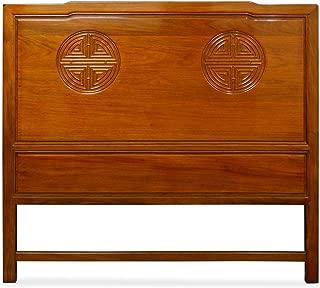 China Furniture Online Rosewood Queen Size Longevity Design Headboard