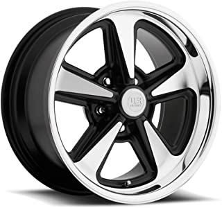US Mags Bandit 18 Machined Black Wheel / Rim 5x4.75 with a 8mm Offset and a 72.6 Hub Bore. Partnumber U10918906152