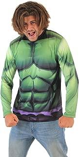 Incredible Hulk Sublimated Adult Long Sleeve Costume T-Shirt