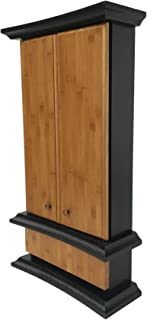 Butsudan FLORA Bambú negro/Altar budista en madera de Tulipier con luz/Templo budista/WhiteDesign Butsudan