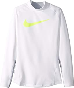 Pro Warm Long Sleeve Mock Top (Little Kids/Big Kids)