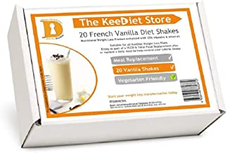 20 French Vanilla Meal Replacement VLCD Diet Shakes by KeeDietA Estimated Price : £ 25,99