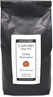 Capomo Coffee Alternative and Substitute - Caffeine Free, Gluten Free, Dark Roast - Maya Nut , - Eco Friendly Herbal Coffe...