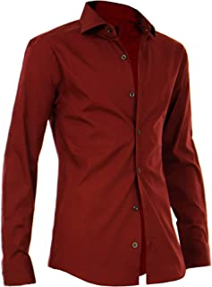 シャツ メンズ カラーシャツ カジュアル 長袖シャツ 綿100% 日本製 キレイめ ちょいワル G300426-02HG