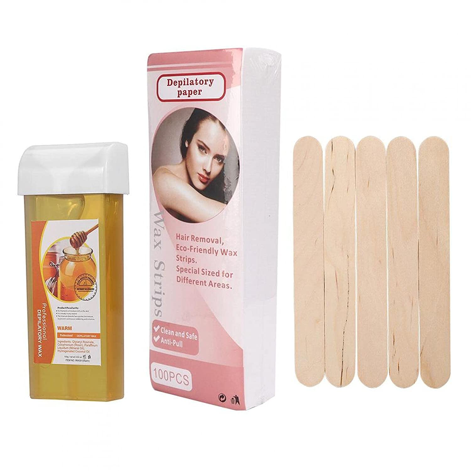 Depilatory Be super welcome Wax Easy To Efficient Practical Le Max 51% OFF Hair Removal