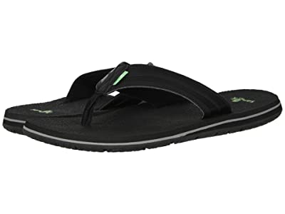 Sanuk Land Shark (Black 1) Men