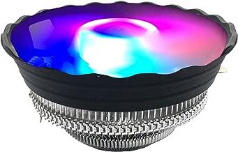 CPU Cooler120mm Fan LED ,CPU Air Cooler for Intel 115X/LGA 775 and AMD 754/939/940/AM3/AM2/FM1/FM2 CPU Heatsinks