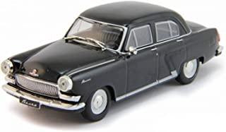 GAZ-21 R Volga Black 1962 Year 1/43 Scale Legendary Soviet Car USSR Collectible Model Vehicle - Soviet Passenger Car by Gorky Automobile Factory (GAZ)