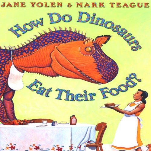 How Do Dinosaurs Eat Their Food?                   By:                                                                                                                                 Jane Yolen                               Narrated by:                                                                                                                                 Jane Yolen                      Length: 5 mins     2 ratings     Overall 5.0
