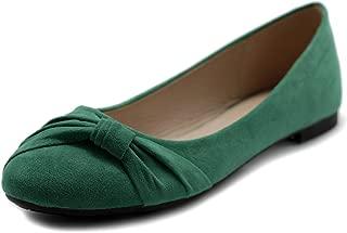 Women's Shoe Ballet Faux Suede Flat