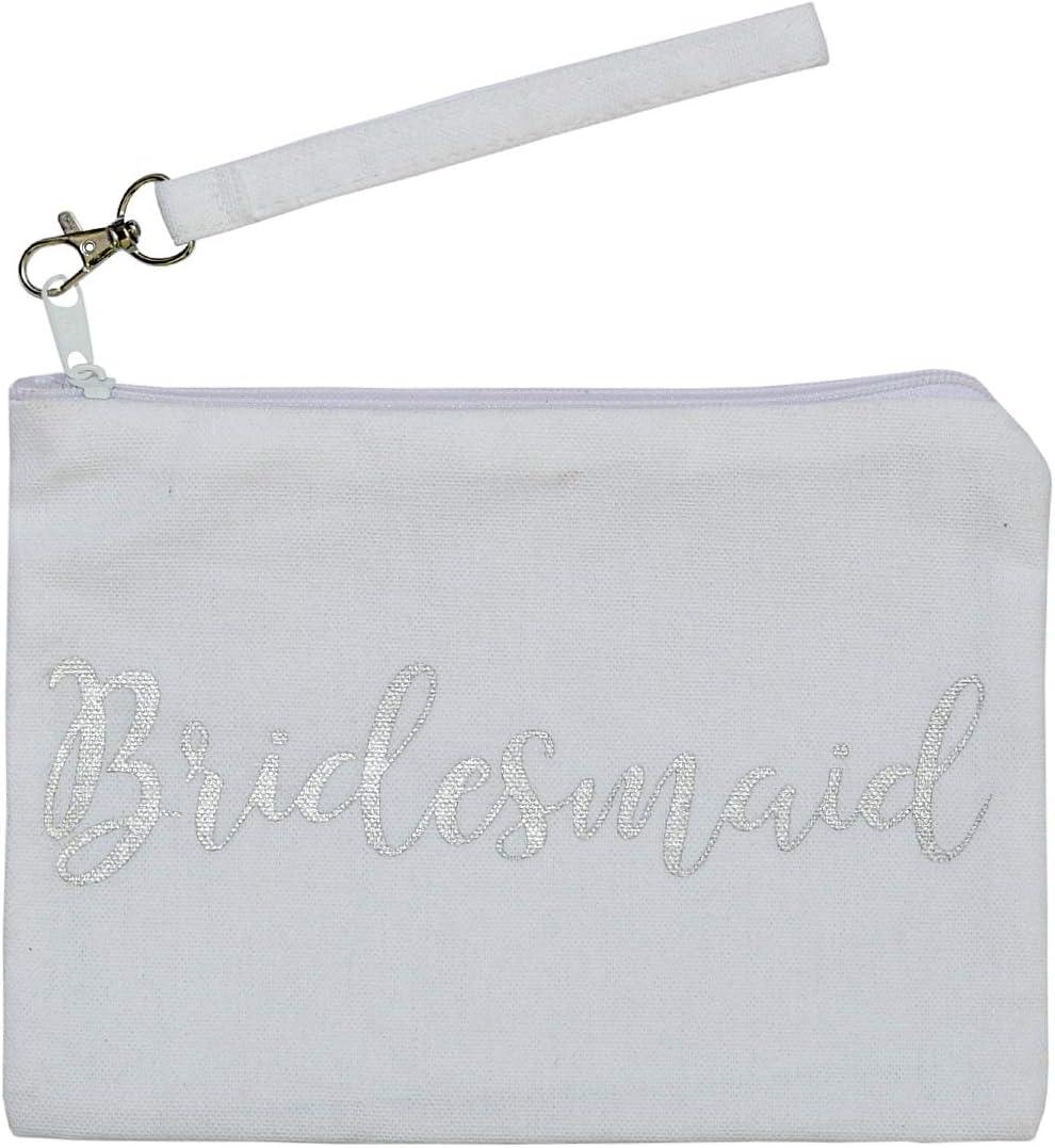 100% Cotton Canvas Wristlet OFFicial shop Pouches Cheap sale Multipurpose zipper with Ba