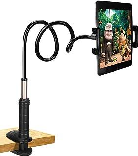 PEYOU Soporte para Tablet, Soporte Móvil Multiángulo con Cuello de Cisne Brazo Compatible para iPad Serie, Nintendo Switch, Compatible para Samsung Tab, Huawei Mediapad Kindle Fire - 87cm