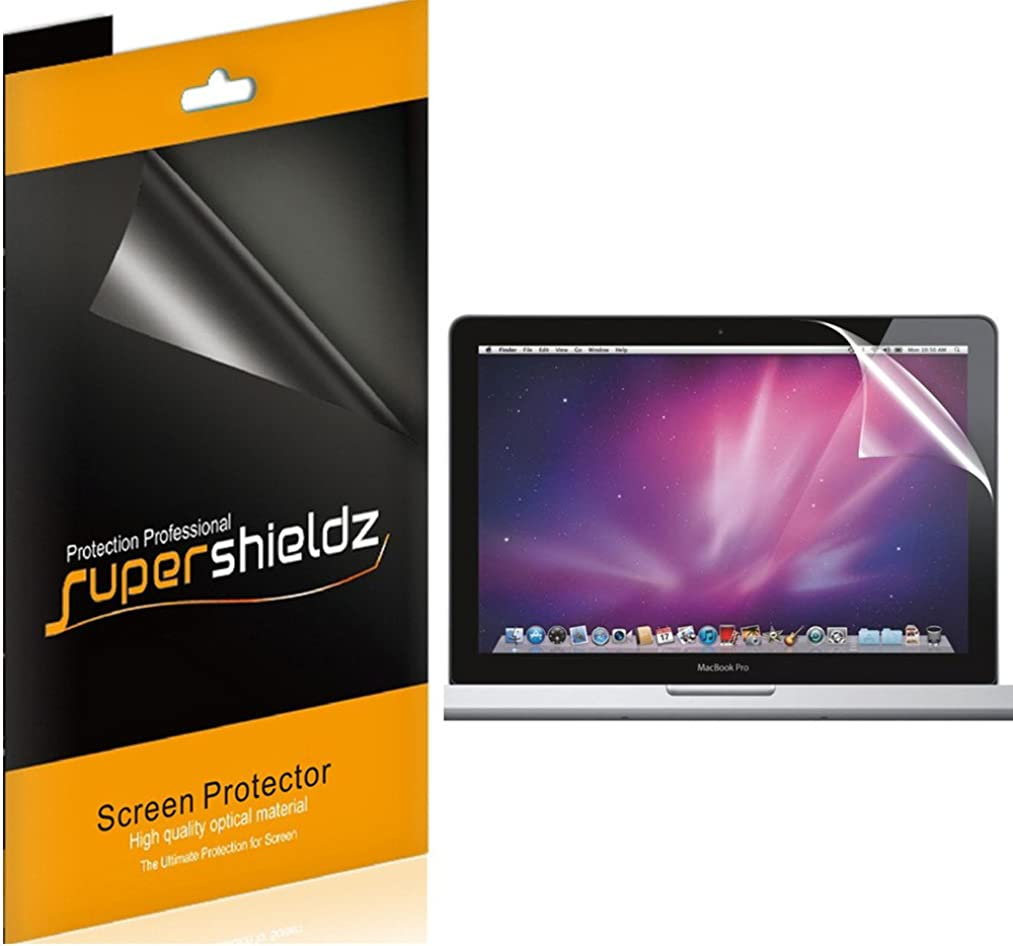 [3-Pack] Supershieldz High Definition Clear Screen Protector for Apple MacBook Pro 13