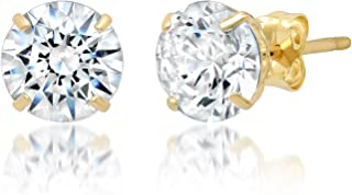 Best 14k gold swarovski earrings Reviews