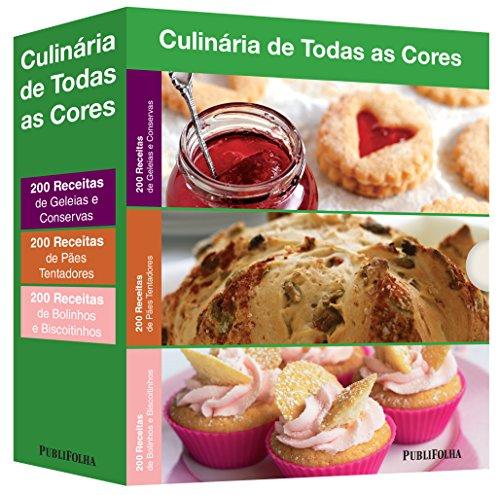 Geleias e Conservas + Pães Tentadores + Bolinhos e Biscoitinhos - Caixa Culinária de Todas as Cores