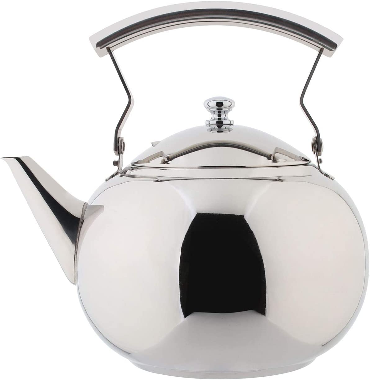 OMGard Teapot with Infuser Loose Tea Stainless Latest item Free shipping on posting reviews Leaf Liter Stee 2