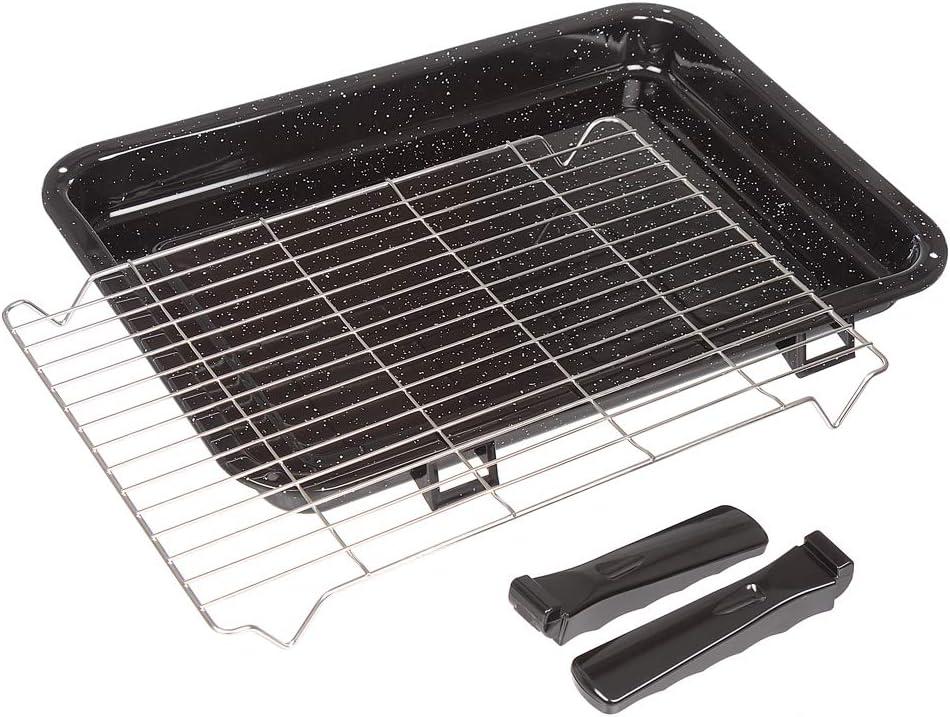 Bandejas de horno universal con parrilla Adjustable Shelve x2