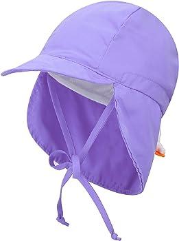 Livingston Kid's SPF 50+ UV Sun Ray Protective Safari Hat