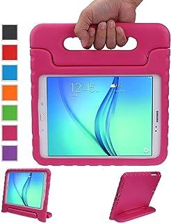 LEADSTAR Kinds Funda para Samsung Galaxy Tab A 9.7 Caso niños EVA destinado a Prueba de Golpes Cubierta Estuche Protector Caso para Samsung Tab A SM-T550 P550 9.7 Pulgadas (Rosa)