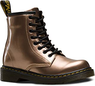 Dr. Martens Kid's Collection Girl's 1460 Patent Glitter Junior Delaney Boot (Little Kid/Big Kid)