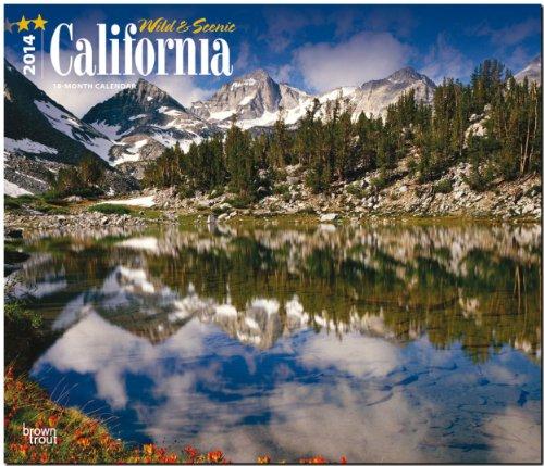 California - Wild & Scenic 2014 - Kalifornien: Original BrownTrout-Kalender - Deluxe [Mehrsprachig] [Kalender]