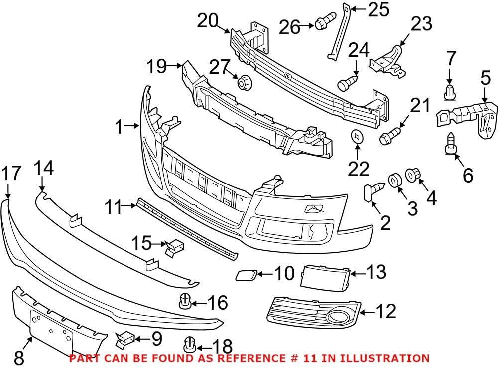 Genuine Bargain sale OEM Grille 8J0807697H for Some reservation Audi