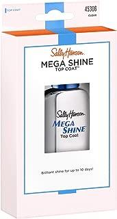 Sally Hansen Mega Shine Top Coat Clear 0.45 Ounce (13.3ml) (2 Pack)