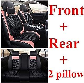 yhwjsxd Bilsätesöverdrag Set Stolsöverdrag Universal för Cadillac Xts Xt5 Bls Sts Srx Chery A1 A3 A5 E3 E5 Qq Tx X1 Eq Eas...