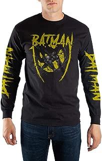 Black and Yellow Long Sleeve Batman T-Shirt