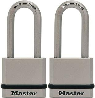 Master Lock M530XTLH Magnum Solid Steel Keyed Alike Padlocks, 2 Pack