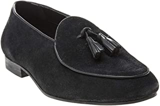 H by Hudson Strayhorn Tassle Sue Mens Shoes Black
